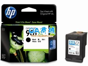 惠普(HP)901XL号/CC654AA黑色墨盒