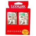 利盟(lexmark)2971A黑色墨盒(双包装)