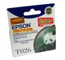 爱普生(EPSON)T026黑色墨盒