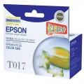 爱普生(EPSON)T017黑色墨盒(两支装)