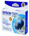 爱普生(EPSON)T0812青色墨盒(大容量)