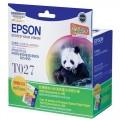 爱普生(EPSON)T027彩色墨盒