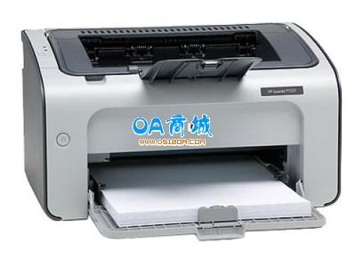 惠普(HP)LaserJet P1007 黑白激光打印机